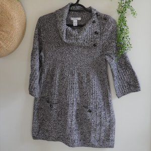 Style & co. Cowl Button Neck Sweater Petite